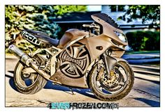 My friends bike Trip McWheelie Frozen, Motorcycle, Bike, Facebook, Vehicles, Photography, Art, Motorbikes, Bicycle