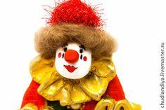 Клоун Мусля. Елочная игрушка. - клоун мусля,клоун клоуны,клоун 2014клоуны