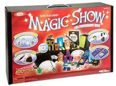 Ideal 100-Trick Spectacular Magic Show Suitcase Magic Set Magic Kits for Kids #Ideal