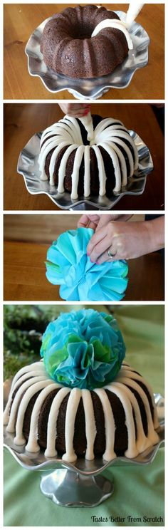 Nothing Bundt Cake Tutorial