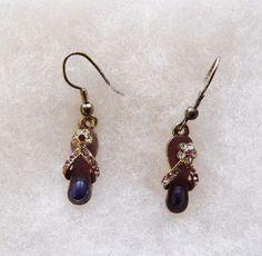 $2.02 - Flip Flop Earrings (21417-129 ER) fashion, jewelry #Unknown #DropDangle