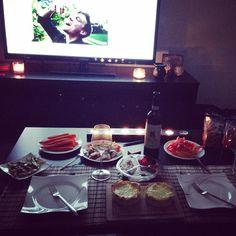 Gestern Abend einen schönen Abend mit meinem Schatz gemacht und das alles natürlich #lowcarb #eatclean #love #lecker by matti_de_pari