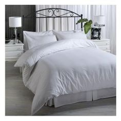 Purchase a high quality Bedroom Duvet Cover Set Cotton Percale White for sale online from Volpes, South Africa's favourite online linen store. White Duvet Covers, Duvet Cover Sets, Linen Bedroom, Bedroom Decor, Linen Store, Pillow Cases, Count, Classic Beauty, Girly Stuff