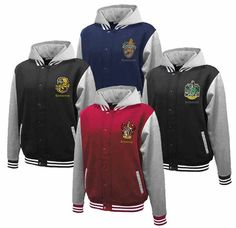 Hogwarts House Fully Custom Quidditch Varsity Jacket by Hanavas, $70.00. I TOTALLY need this.