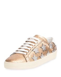 Court Classic Low-Top Star Sneaker, Bronze