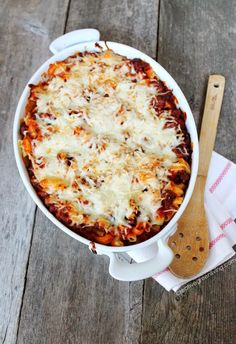 This is the best baked pasta recipe ever. You'll never believe the secret ingredient!