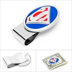 Select Gifts Milan City Italy Flag Cufflinks /& James Bond Money Clip