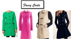 cute fancy coats