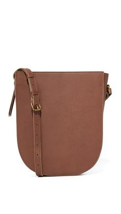 MADEWELL Medium Shoulder Bag. #madewell #bags #shoulder bags #leather #