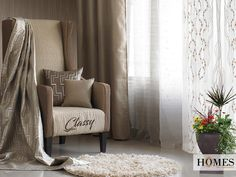 Add #Class and #Elegance to your #HomeDecor with #HomesFurnishings's collections.  Explore more on www.homesfurnishings.com #HomeFabrics #Cushions #Furnishings #Curtains #Upholstery