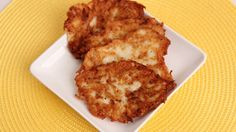 Homemade Hash Browns Recipe - Laura Vitale - Laura in the Kitchen - those loook so crunchy and scrumptious!