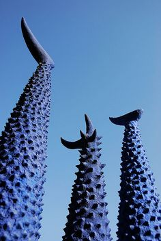 Blue Park Sculpture, Providencia, Santiago, Chile