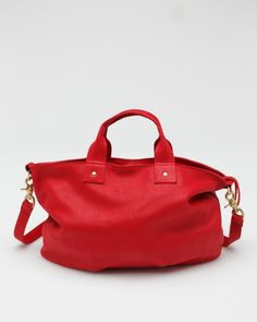 Messenger In Red  Clare Vivier