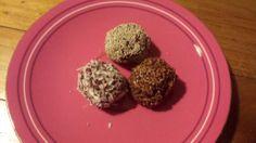 Beetroot chocolate protein balls
