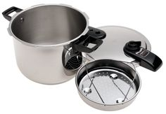 Amazon.com: Presto 01370 8-Quart Stainless Steel Pressure Cooker: Kitchen & Dining