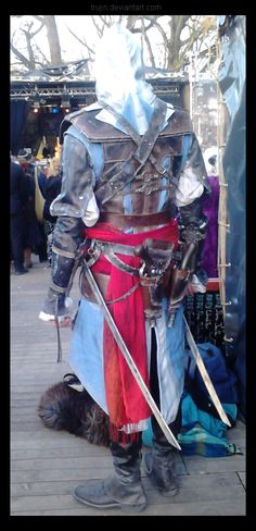 Assassin's Creed: Edward Kenway (view from behind) by ~Trujin on deviantART #cosplay #assassinscreed