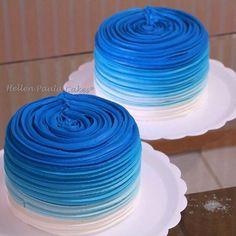 Cake Mix Fudge Chocolate 31 Ideas For 2019 Buttercream Cake, Fondant Cakes, Cupcake Cakes, Fondant Girl, Cake Mix Fudge, Cake Mix Cookies, Baby Boy Cakes, Cakes For Boys, Blue Birthday Cakes