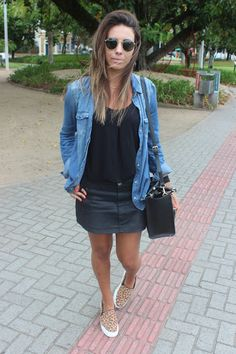 Nanda Pezzi - Camisa jeans