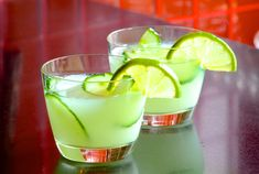 Wasabitini - This recipe takes a martini served on the rocks to a whole new level. Lime, mint, vodka, cucumber and wasabi - you're going to love it!