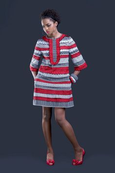 Ideas on african fashion outfits 290 Ankara Clothing, African Print Clothing, African Print Dresses, African Print Fashion, Nigerian Clothing, Nigerian Fashion, Ghanaian Fashion, African Prints, African Dresses For Women