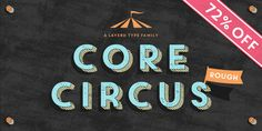 Core Circus Rough - Webfont & Desktop font « MyFonts