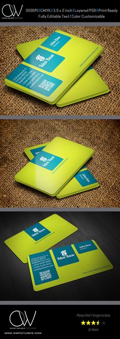 Corporate Business Card Vol.25 on Behance