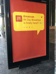 McDonalds Print Ad (my image)