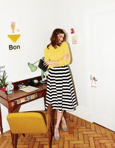 Maggie Ottoman Midi Skirt