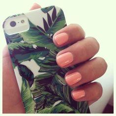 peachy, corally, pinkish