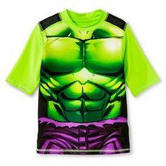 Boys' Hulk Rashguard - Lime