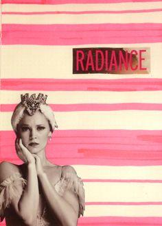 Radiance art journal page by Rachel Mims rachelmims.blogspot.com
