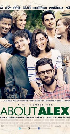 Directed by Jesse Zwick.  With Nate Parker, Jason Ritter, Maggie Grace, Max Greenfield. When a group of old college friends reunite over a long weekend after one of them attempts suicide, old crushes and resentments shine light on their life decisions, and ultimately push friendships and relationships to the brink.