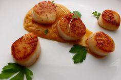 Scallops. Bacon. Sweet Potatoes. - Little Ms. Chef