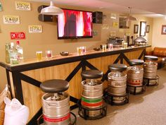 13 Great Design Ideas for Basement Bars : Rooms : Home & Garden Television