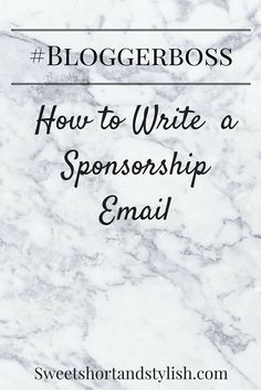 Having a tough time getting sponsorships? My new blog series called #BloggerBoss is all about helping you to become a better blogger and make more money from your business!