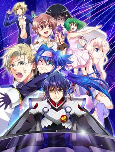 Macross Frontier- A great mech anime that actually has a good story line and great characters. Not to mention the AMAZING music.