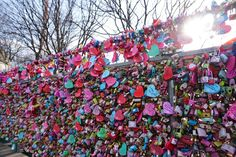 Love Locks am Namsan Seoul Tower K Pop, Seoul, South Korea Photography, Highlights, Lotte World, Love Lock, Locks, Bucket, Books