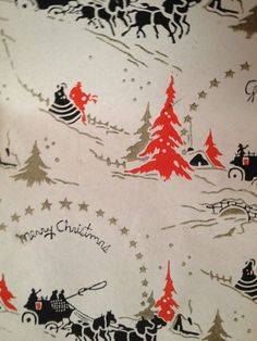 Rare and Wonderful Jewelry Store Vintage Christmas Wrapping Paper by the Yard by EdgarandEdgar on Etsy https://www.etsy.com/listing/227361953/rare-and-wonderful-jewelry-store-vintage