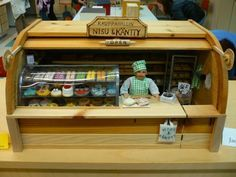 OH MY GOSH! Love this Diorama!!! A bakery in a breadbox! I so wanna do this, just for the heck of it!!!