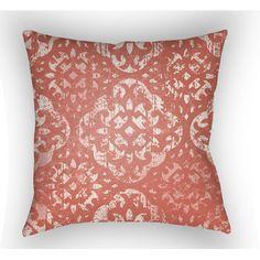 Surya Yindi Throw Pillow & Reviews   Wayfair