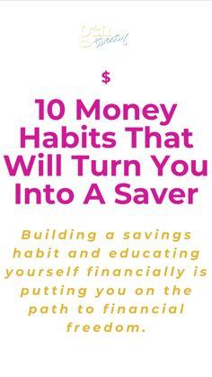 Best Money Saving Tips, Ways To Save Money, Make More Money, Money Saving Challenge, Money Tips, Financial Tips, Financial Literacy, Financial Planning, Budgeting Finances