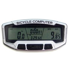 SUNDING Electronic Bicycle Computer / Speedometer with Stopwatch Cooking Timer, Bicycle, Coding, Electronics, Bike, Bicycle Kick, Bicycles, Consumer Electronics, Programming