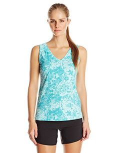 Columbia Sportswear Womens Some R Chill III Tank Top Candy MintAztec Print XSmall * Continue to the product at the image link.(This is an Amazon affiliate link and I receive a commission for the sales)