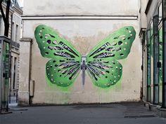 Ludo: Fusión de tecnología y naturaleza en Street Art | Undermatic