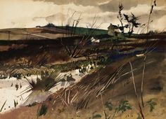 Andrew Wyeth - The home of John Chads