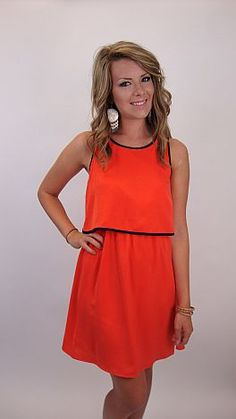 For sorority rush, football games or picking the kids up at carpool, this easy dress is your answer to prayer!