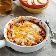 Chpeesy, beefy, warm and cozy, absolutely delicious Lasagna Dip