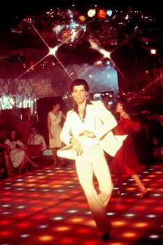 "John Travolta, ""Saturday Night Fever"""