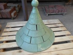 Glazed handmade brick roof for Elsinore's Folly - a whimsical toy tower for cats. Brick Roof, Home Projects, Whimsical, Tower, Construction, Inspirational, Shapes, Crafty, Texture