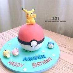 pokemon cake Video Game Cakes, Pokemon, Birthday, Desserts, Food, Tailgate Desserts, Birthdays, Deserts, Essen